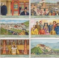 CHROMOS LIEBIG Série 1 à 6 : Lhassa , Ville Sainte Du Lamaïsme - Liebig