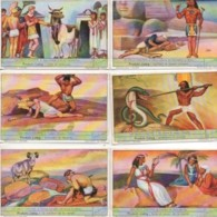 CHROMOS LIEBIG Série 1 à 6 : Les Dieux D'Egypte - Liebig