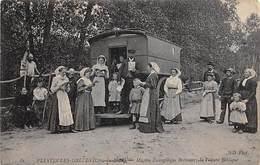 Plestin Les Grèves     22     Mission Evangélique Bretonne.Voiture Biblique      (voir Scan) - Plestin-les-Greves
