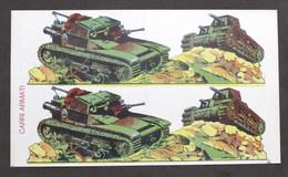 Soldatini Di Carta Marca Stella - Carri Armati - Anni '30 - Autres Collections