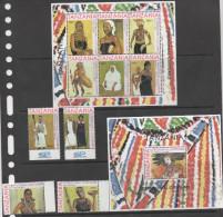TANZANIA  ,2013, MNH, CEREMONIAL COSTUMES, COSTUMES, DANCERS, 4v+ SHEETLET +S/SHEET - Costumes