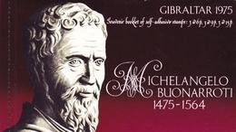 Gibraltar, 1975, 334 B/36 B, Booklet MH 2, Michelangelo.  MNH ** - Gibraltar