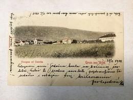 AK  BOSNIA  BOSNA   BILEK   BILEĆA   1904.  SERBIAN MONASTERY   SRPSKI MANASTIR - Bosnien-Herzegowina