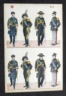Soldatini Di Carta Marca Stella N° 5 - Esercito Italiano Ufficiali - Anni '30 - Altre Collezioni