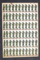 Soldatini Di Carta Marca Stella N° 44 - Esercito Italiano - Alpini - Anni '30 - Autres Collections