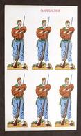 Soldatini Di Carta Marca Stella - Garibaldini - Anni '30 - Altre Collezioni