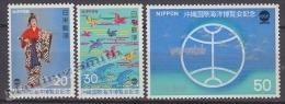 Japan - Japon 1975 Yvert 1162-64, Oceanexpo ´75 - MNH - Nuevos