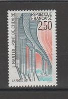 FRANCE / 1991 / Y&T N° 2704 ** : Pont De Cheviré (Nantes) - Gomme D'origine Intacte - France