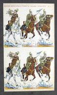 Soldatini Di Carta Marca Stella N° 4 - Esercito Italiano - Cavalleria - Anni '30 - Autres Collections