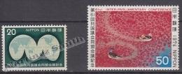 Japan - Japon 1974 Yvert 1126-27, 61st Inter Parlament Union - MNH - Nuevos