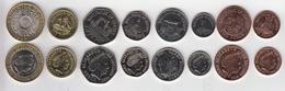 Jersey Decimal Coin Set 1p, 2p, 5p, 10p, 20p, 50p 2016 & £1 £2 - Uncirculated - Jersey