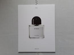 "BYREDO   Parfum  ""  BYREDO  !! - Cartes Parfumées"