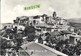 Lazio-roma-montelibretti Panorama Di Montelibretti Castello Veduta Ravvicinata Case Paese Anni 50/60 - Italy