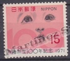 Japan - Japon 1971 Yvert 1028, Centenary Of The Civil State - MNH - Nuevos