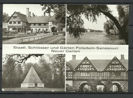 Deutschland POTSDAM Staatliche Schlösser U. Gärten Potsdam-Sanssouci & Neuer Garten Sent 1996 With Stamp - Castillos
