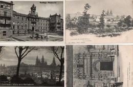 85Ct   Espagne Santiago Lot De 9 Cartes Postales - Santiago De Compostela