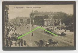 VO  196  /  RUSSIE   /  PETROGRADE /  SAINT - PETERSBOURG  /  NEWSKI   /  Tramway - Russie