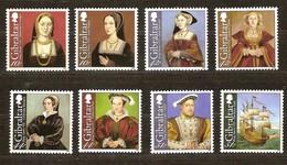 Gibraltar 2009  Yvertn° 1308-1305  ***  MNH Cote 12,00 Euro Henri VIII - Gibraltar