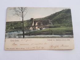 A 1067 - Trois Ponts Confluent De L'amblève Et De La Salm. Série 20 No 31 Couleur - Trois-Ponts