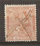 1873   Yv. N° 130    (o)  2c   République   Cote  7,5 Euro   BE   2 Scans - Oblitérés
