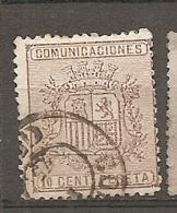 1874   Yv. N° 151   (o)  10c   Armoiries   Cote  1,25 Euro   BE   2 Scans - 1873-74 Reggenza