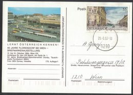 JP361  Österreich Austria Ganzsache Stationery 179/1 Floridsdorf + Mi.Nr. 2494 - Entiers Postaux