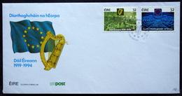 Ireland   1994 MiNr.853-54   FDC ( Lot 3943) - FDC