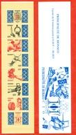 Sport. Monaco 1993. Unsed Stamps.Booklet. - Athletics