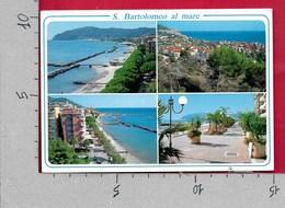 CARTOLINA VG ITALIA - S. BARTOLOMEO AL MARE (IM) - Vedutine Multivue - 10 X 15 - ANN. 2004 IMPERIA - Imperia