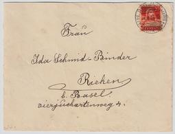 """1925, """" Baden-Aarg. Gewerbeausstellung """"  , #a1481 - Poststempel"""