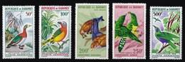 REPUBBLICA DI DAHOMEY 1966/1967 UCCELLI - Benin – Dahomey (1960-...)