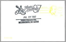 FESTA ITALIANA - FIESTA ITALIANA - ITALIAN FEST. Milwaukee WI 1987 - Música