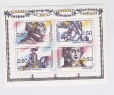 France 1991 The French Revolution Souvenir Sheet MNH/** (H26) - Franz. Revolution