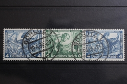 Deutsches Reich Zd W50 Gestempelt Zusammendrucke #RK155 - Se-Tenant