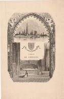 GRAVURE L'ABBAYE DE CHELLES - Chelles