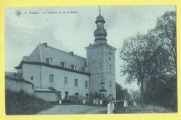 * Fumal (Braives - Liège - La Wallonie) * (SBP, Nr 2) Le Chateau Vu De La Route, Kasteel, Castle, Animée, Rare, Old, TOP - Braives
