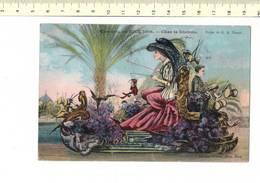 48957 - CARNAVAL DE NICE 1908 - CHAR  LE DIABOLO - Carnaval
