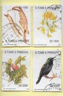 TIMBRES- STAMPS -MARCOPHILIE- SAO TOME ET PRINCIPE / S .TOME AND PRINCIPE -1992- FAUNE ET FLORE- SERIE TIMBRES OBLITERÉS - Timbres