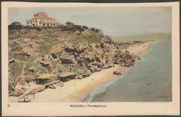 Torremolinos, Málaga, Andalucía, C.1950 - Dolores De Oña Tarjeta Postal - Málaga