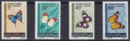MAURITANIA 1966 FARFALLE - Mauritania (1960-...)