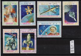 Laos 1986, Space, Complete Set, Vfu - Laos