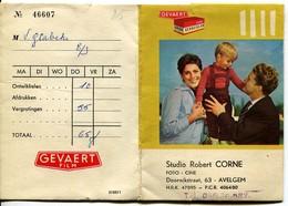 Avelgem Pochette Photos Studio Robert Corne Gevaert - Gevacolor - Gevapan Photographe - Vieux Papiers