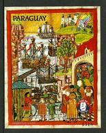 PARAGUAY 1989 800TH ANNIVERSARY OF HAMBURG SHIPS M/SHEET SLIGHT SECOND MNH - Paraguay