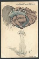 """+++ CPA - Fantaisie - Fantasy Card - Mode 1909-10 - Illustrateur ROBE - """"Les Chichis De La Femme"""" - Chapeau Coiffure // - Mode"""