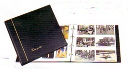 CLASSEUR ALBUM POUR 240 CARTES POSTALES FOND BLANC CPA OU CPM 20 FEUILLES - PV CONSEILLE 51.80€ NET 35.00€ CARTE POSTALE - Supplies And Equipment