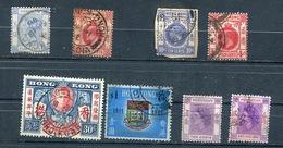 HONG KONG  -  Small Lot Of Old Stamps Used - Hong Kong (...-1997)