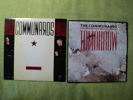 THE COMMUNARDS. LOT DE DEUX 45 TOURS. 1986 / 1987 TOMORROW / I JUST WANT TO LET YOU KNOW / DIDENCHANTED / JOHNNY VERSO. - Rock