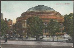 Albert Hall, London, C.1905-10 - Postcard - London