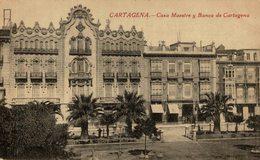 CARTAGENA CASA MAESTRE Y BANCO DE CARTAGENA - Murcia