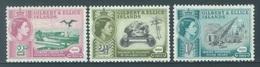 GILBERT ELLICE -  MNH/** - 1960 - MINES PHOSPHATE - Yv 71-73 -  Lot 18271 - BROWN TRACE - Îles Gilbert Et Ellice (...-1979)